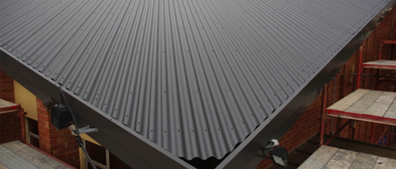 Image result for steel roofing